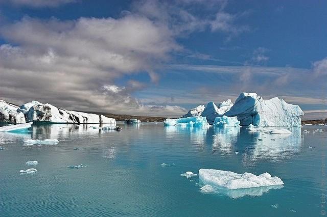 Ёкюльсаурлоун — лагуна льда, Исландия