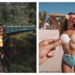 Жизнь — за лайки: пара блогеров-путешественников чуть не выпала из поезда в пропасть, делая захватывающее фото
