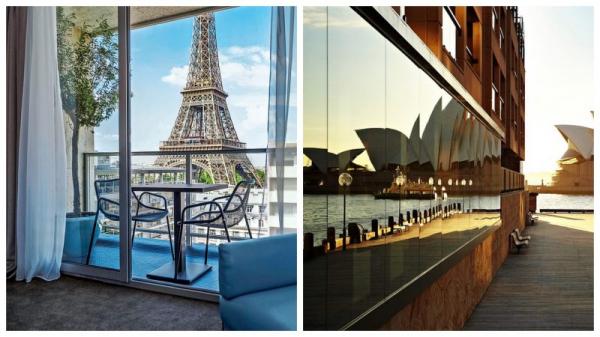 А из нашего окна башня Эйфеля видна! Отели с самыми красивыми видами в мире